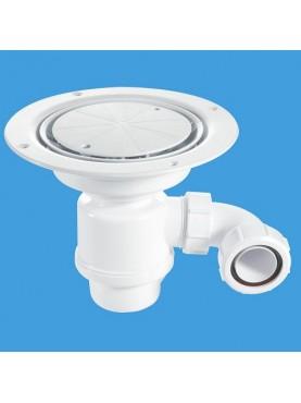 McAlpine 2-Piece 50mm Water Seal Gravity Waste for Vynyl Flooring
