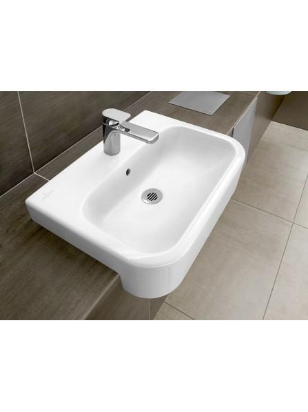 Villeroy & Boch Architectura 55 x 43cm Semi-Recessed Washbasin White - 41905501