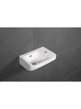 Villeroy & Boch Architectura 36.5X26Cm One Tap Hole Compact Hand Basin Overflow White - 43733601