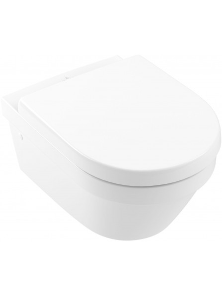 Villeroy & Boch Architectura Direct Flush Wall Mounted Rimless Pan White - 4694R001