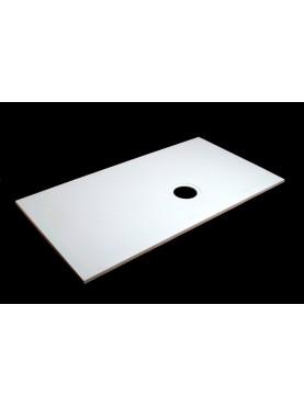 Diamond 1800 x 850 Rectangular Wet Room Tray for Vinyl Non Slip Flooring - D09RV2