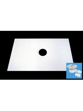 Diamond 850 x 850 Square Wet Room Tray for Tiled Floors - D10ST2