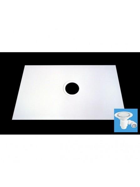 Diamond 1000 x 1000  Square Wet Room Tray for Vinyl Non Slip Flooring - D11SV2
